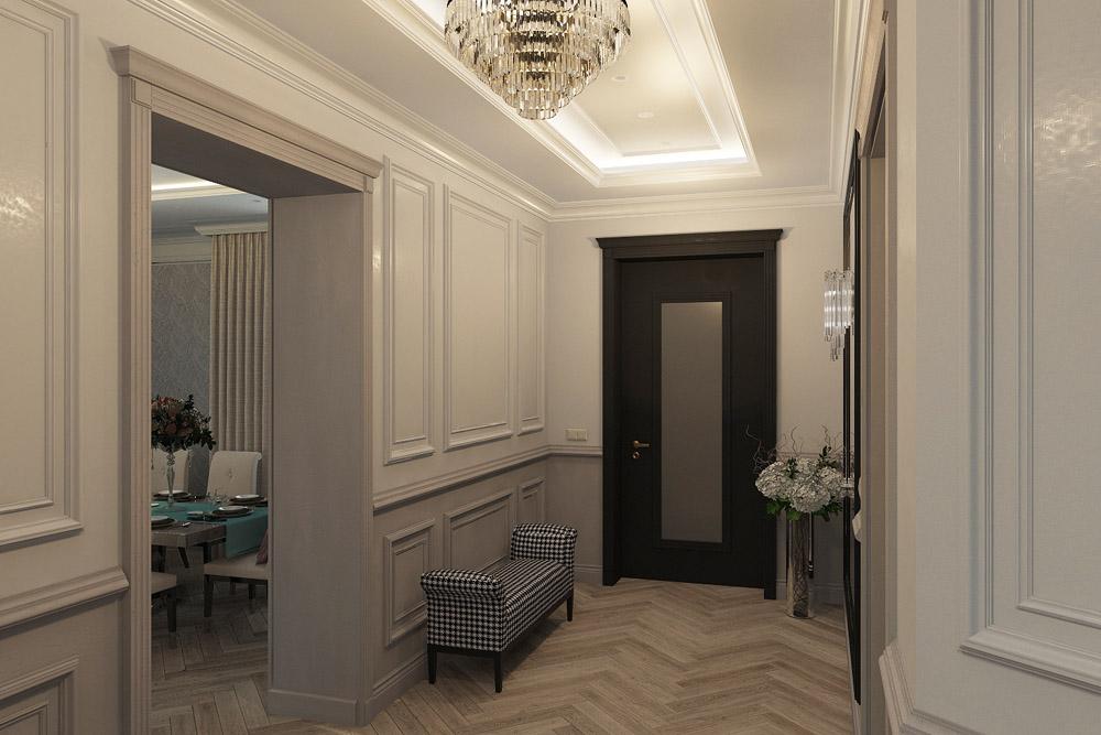 Дизайн квартиры без прихожей