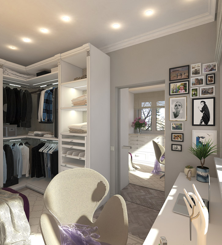Дизайн двухкомнатной квартиры в хрущевке